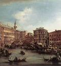 GUARDI Francesco The Rialto Bridge with the Palazzo dei Camerlenghi