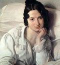 Hayez Francesco Portrait of Carolina Zucchi