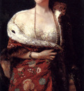 Michetti Francesco Paolo Portrait Of A Lady