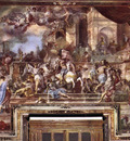 SOLIMENA Francesco Expulsion Of Heliodorus From The Temple