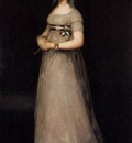 GOYA Francisco de POrtrait of the Countess of Chincon