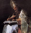 GOYA Francisco de St Gregory