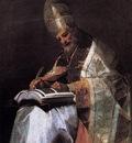 GOYA Francisco de St Gregory