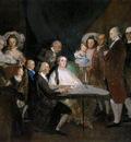 GOYA Francisco de The Family of the Infante Don
