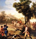 GOYA Francisco de The Quail Shoot