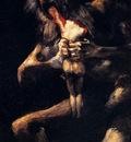 Goya Francisco Saturn Devouring His Sons