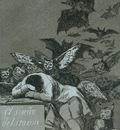 Goya The sleep of reason brings forth monsters