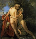 NAVEZ Francois Joseph The Nymph Salmacis And Hermaphroditus