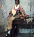 Duveneck Frank Flower Girl