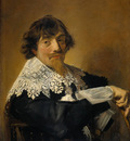 Hals Frans Portrait of a man possibly Nicolaes Hasselaer