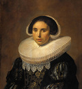 Hals Frans Portrait of a woman possibly Sara Wolphaerts van Diemen