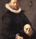 Portrait of a Man Holding a Skull WGA