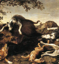 SNYDERS Frans Wild Boar Hunt