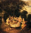 Franckent Abraham Govaerts The Five Senses