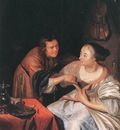 Carousing Couple WGA