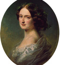 Winterhalter Franz Xavier Lady Clementina Augusta Wellington Child Villiers