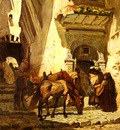 Bridgeman Frederick Arthur Near The Kasbah