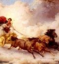 Bridgman Frederick Arthur Apollon Enlevant Cyrene