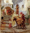 Bridgman Frederick Arthur The Orange Seller