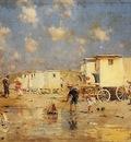 Kaemmerer Frederick Hendrik The Beach At Scheveningen Holland