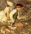 Kaemmerer Frederik Hendrik An Afternoon Of Fishing