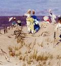 Kaemmerer Frederik Hendrik Elegant Women On The Beach