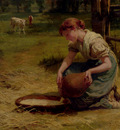 Morgan Frederick Milk For The Calves