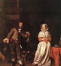 METSU Gabriel The Hunter And A Woman