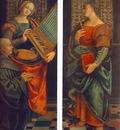 FERRARI Gaudenzio St Cecile With The Donator And St Marguerite