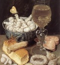 FLEGEL Georg Still Life With Bread And Confectionary