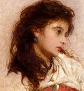 Hicks George Edgar A Gypsy Girl
