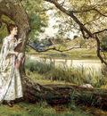 Kilburne George Goodwin On The River bank