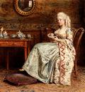 Kilburne George Goodwin Taking Tea
