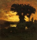 Inness George Afterglow