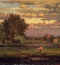 Inness George Clearing Up