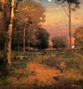 Inness George Early Moonrise Florida aka Early Morning Florida