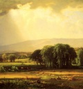 Inness George Harvest Scene in the Delaware Valley