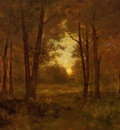 Inness George Sundown near Montclair