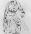 Lambert Seated Woman drawing