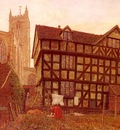 Boyce George Price Church And Ancient Uninhabited House At Ludlow