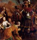 Eeckhout Gerbrand Van Den Volumnia Pleading With Her Son Coriolanus To Spare Rome