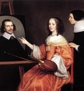 HONTHORST Gerrit van Margareta Maria De Roodere And Her Parents