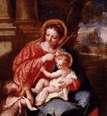 Guardi Giovanni Antonio Madonna And Child With Sain John The Baptist