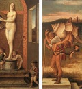 Four allegories 2 EUR