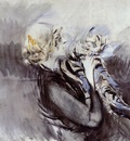 Boldini Giovanni A Lady with a Cat