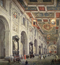 PANNINI Giovanni Paolo Interior Of The Santa Giovanni In Laterno In Rome
