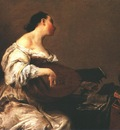 CRESPI Giuseppe Maria The Scullery Maid