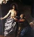 Guercino The Resurrected Christ Appears to the Virgin