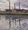 Caillebotte Gustave Factories at Argenteuil