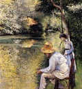 Caillebotte Gustave Fishing